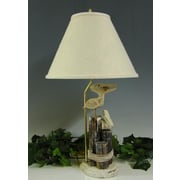 Lamp Factory Pelicans 26'' H Table Lamp with Empire Shade