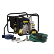 Champion Power Equipment 158 GPM Semi Trash and Water Transfer Pump with Hose Kit