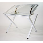 Martin Universal Design X Factor Drawing/Drafting Table; Glass