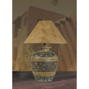 Anthony California 30'' H Table Lamp with Empire Shade