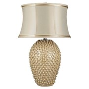 Dimond Lighting Pineville 30'' H Table Lamp with Drum Shade; Halogen