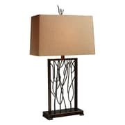 Dimond Lighting Legacies Belvior Park 33'' H Table Lamp with Rectangular Shade; Halogen