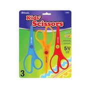 Bazic Fluorescent Safety Scissors (Set of 3); Case of 144