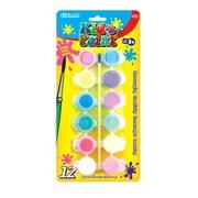 Bazic 12 Color Kid's Paint Set; Case of 24