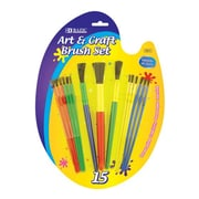 Bazic Kid's Watercolor Paint Brushes (Set of 9); Case of 144