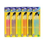 Bazic Paint Brushes (Set of 5); Case of 24