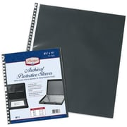 Alvin and Co. Archival Protective Sleeve Refill Pages; 8.5'' W x 11'' D