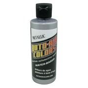 Auto-Air Colors 4 oz Airbrush Metallic Paint; Silver