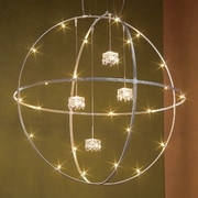 Bruck V/A Sphere Ceiling Fixture; Bronze