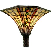 Warehouse of Tiffany Large Torchiere Floor Lamp