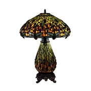 Dale Tiffany Dragonfly 25'' H Table Lamp with Bowl Shade