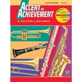 Alfred Publishing Accent on Achievement, Book 2: E-Flat Alto Saxophone (Book and CD)