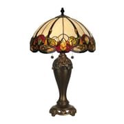 Dale Tiffany Northlake 27'' H Table Lamp with Bowl Shade