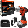 Stalwart™ 75-01120 18 V Cordless Drill With LED Light, 10 mm(Dia) Capacity