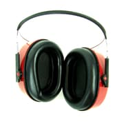 Stalwart™ Deluxe Performance Ear Muff, Red/Black