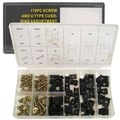 Stalwart™ 170 Piece Sheet Metal U-Clip and Screw Assortment Set