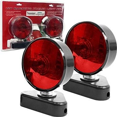 Stalwart™ 12 V Magnetic Trailer Light Kit, Red