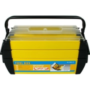Stalwart™ Hawk Deluxe Steel and Plastic Tool Box