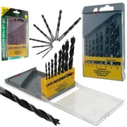 Stalwart™ Wood Drill Bit Set With Storage Case, 3 - 10 mm, 8 Piece