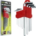 Stalwart™ 9 Piece Long Hex Allen Wrench Set