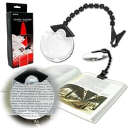 Stalwart™ 75-8040 Hands Free Flex Neck Magnifier With Clip