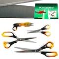 Stalwart™ 4 Piece Stainless Steel Scissor Set