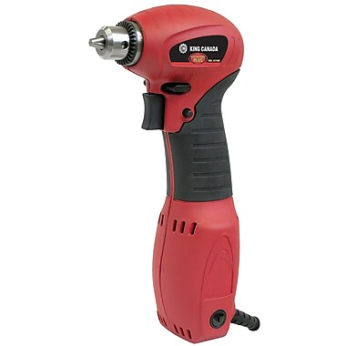 King Canada Variable Speed Right Angle Drill, 3/8