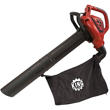 King Canada 8500Bvm, 3-in-1 Variable Speed Blower,Vacuum,Mulcher