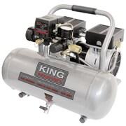 King Canada - Compresseur d'air ultra silencieux et sans huile, 1,6 gallon