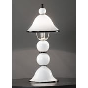 Cristalstrass Murano & Crystal Canaletto 20'' H Table Lamp with Bowl Shade