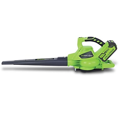 GREENWORKS G-MAX 185 MPH DigiPro Brushless 40 Volt Lithium-ion Blower