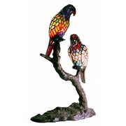 Warehouse of Tiffany Exotic Birds Accent 21'' Table Lamp