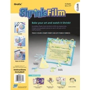 Grafix Craft Shrink Film Sheets (Set of 6); Clear