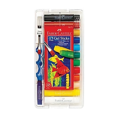 Faber- Castell Gel Sticks (Set of 12)