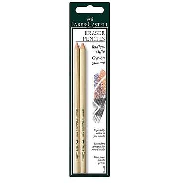 Faber- Castell Pink Pearl Eraser Pencils (Set of 2)