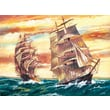 Reeves Paint By Numbers Large Sailing Ships Painting