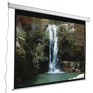 Mustang Aspect Ratio Matte White 84'' Electric Projection Screen