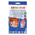 SnazarooUSA Face Paint Stencil for Boy (Set of 6)