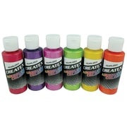 Createx Colors 2 oz Pearlized Airbrush Paint Set