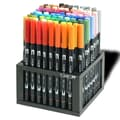American Tombow Professional Dual Brush Pen Marker Set - 96 Colors with Desk Stand