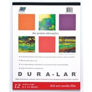 Grafix Wet Media Duralar Film Sheets (Set of 12); 12'' x 9''