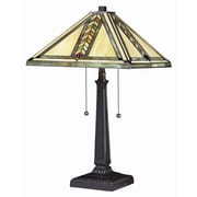 Z-Lite Shalimar 23'' H Table Lamp with Square Shade