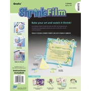 Grafix Craft Shrink Film Sheets (Set of 6); White