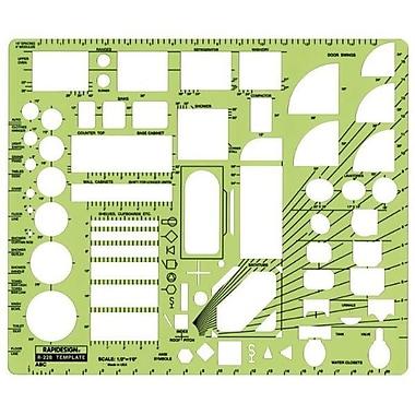 RAPID House Plan Fixtures Template