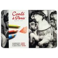 Conte Pastel Color Pencils (Set of 12)