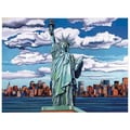 Reeves Paint By Numbers Large Statue of Liberty Painting