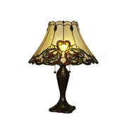 Z-Lite Jubilee 23'' H Table Lamp with Bell Shade