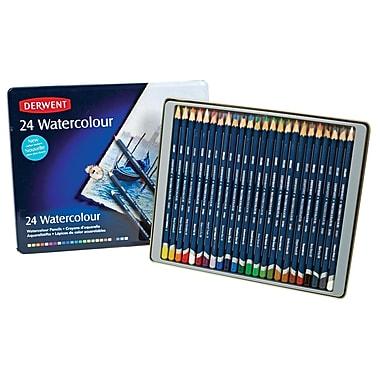 Derwent Watercolor 24 Piece Pencil Set