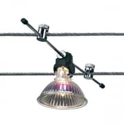 Bruck High Line1 Light Calo Down Spot Light; Chrome and Black