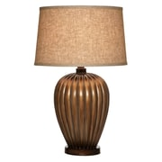 Anthony California Hand Applied Lined 28'' Table Lamp; Antique Copper